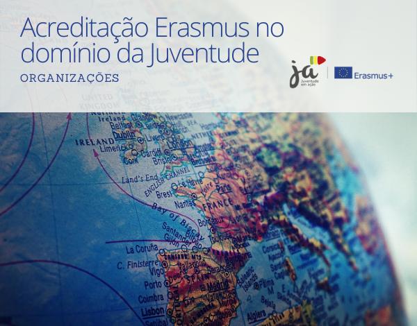 Acreditações Erasmus no Domínio da Juventude 2021-2027