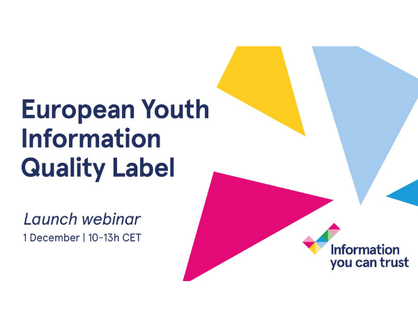 Webinar | European Youth Information Quality Label