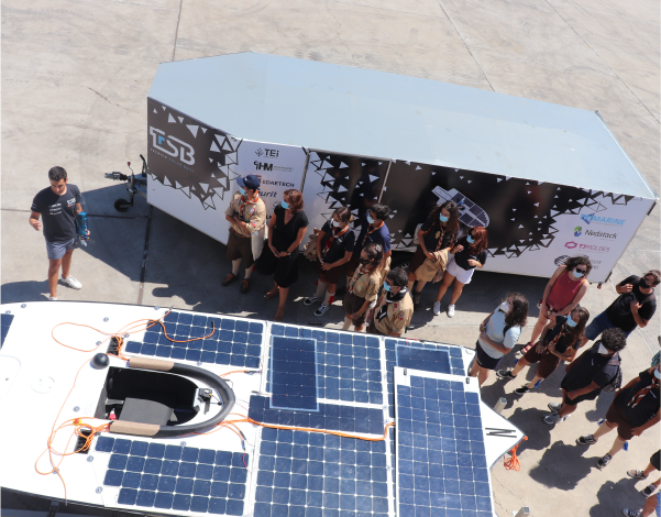 Final do Evento Odisseia - Técnico Solar Boat | Direção Regional de Juventude