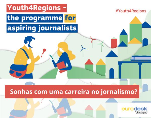 Sonhas com uma carreira no jornalismo?