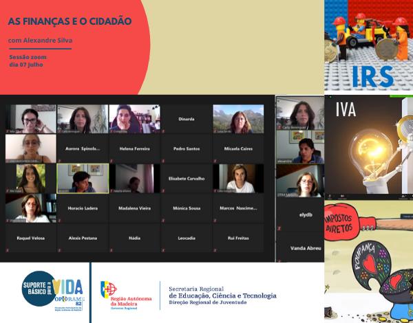 Workshop online sobre as Finanças e o Cidadão com forte adesão