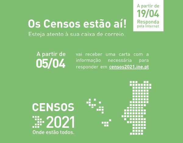 Censos 2021 | Preenchimento via Internet