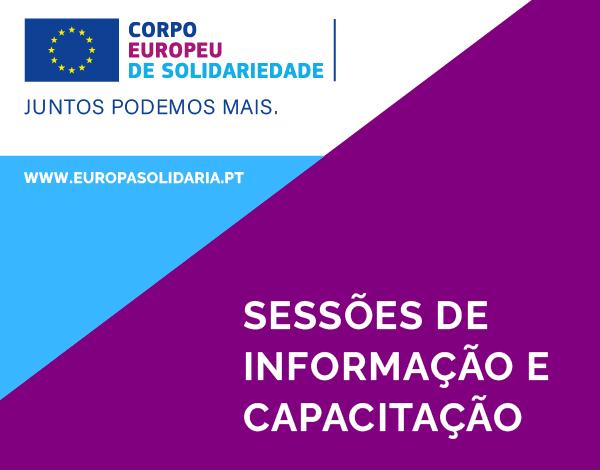 Corpo Europeu de Solidariedade | Sessões de informação online