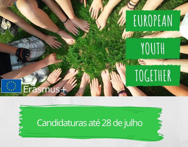 Nova Oportunidade Erasmus+ - European Youth Together