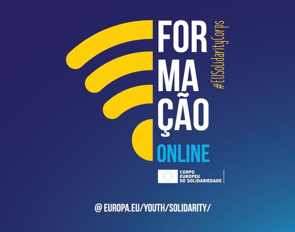 Formação online | Corpo Europeu de Solidariedade (CES)