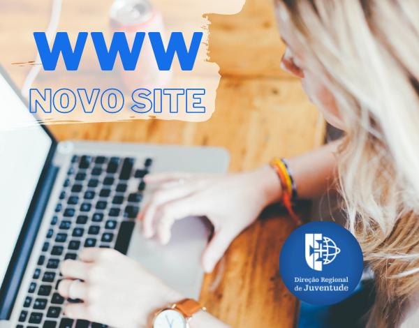A Direção Regional de Juventude tem um novo site!