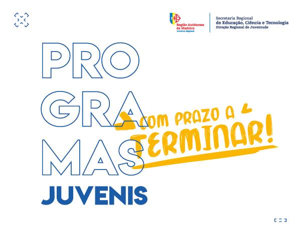 Jovem em Formação, Monitor Júnior e Colombo | Terminam hoje as inscrições!
