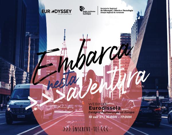 Webinar Programa Eurodisseia | Estágios Profissionais na Europa