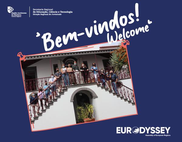 DRJ acolhe novo grupo de estagiários europeus ao abrigo do Programa Eurodisseia