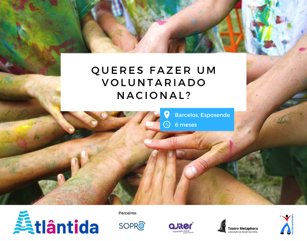 Gostarias de realizar uma experiência de voluntariado fora da Madeira, mas não queres ir para muito longe?