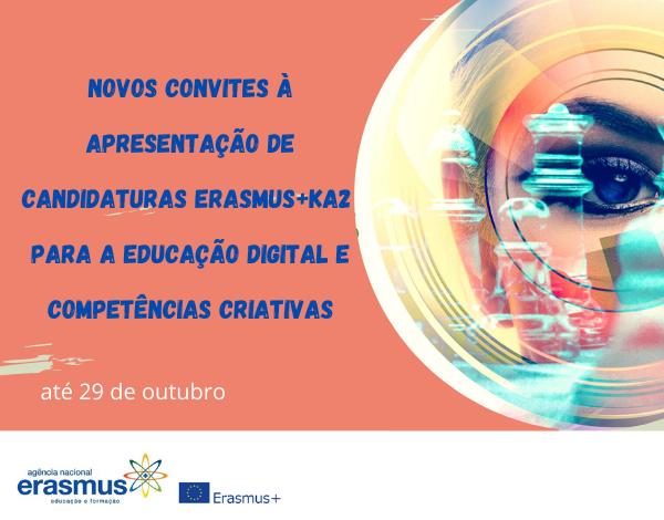 Erasmus+ Educação e Formação lança data para novas candidaturas em 2020