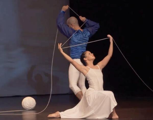 Espetáculo de dança e bailado