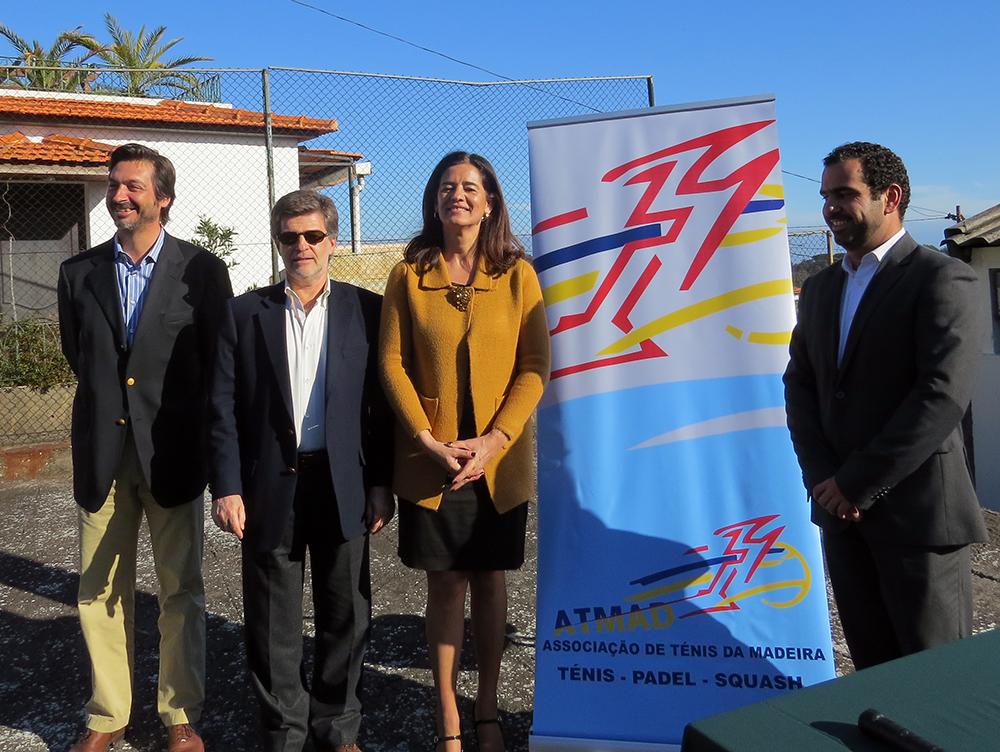Novos campos de squash ao serviço da população do Funchal