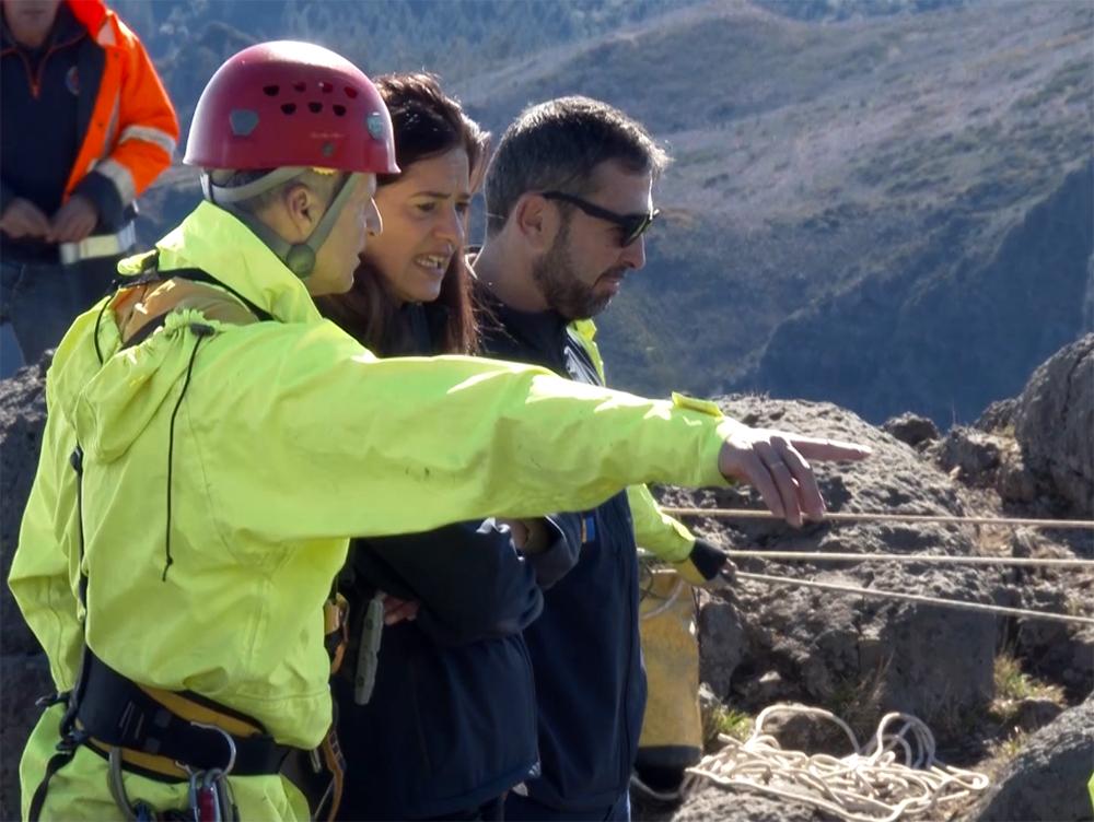 Resgate em Montanha com novos equipamentos no valor de 100 mil euros