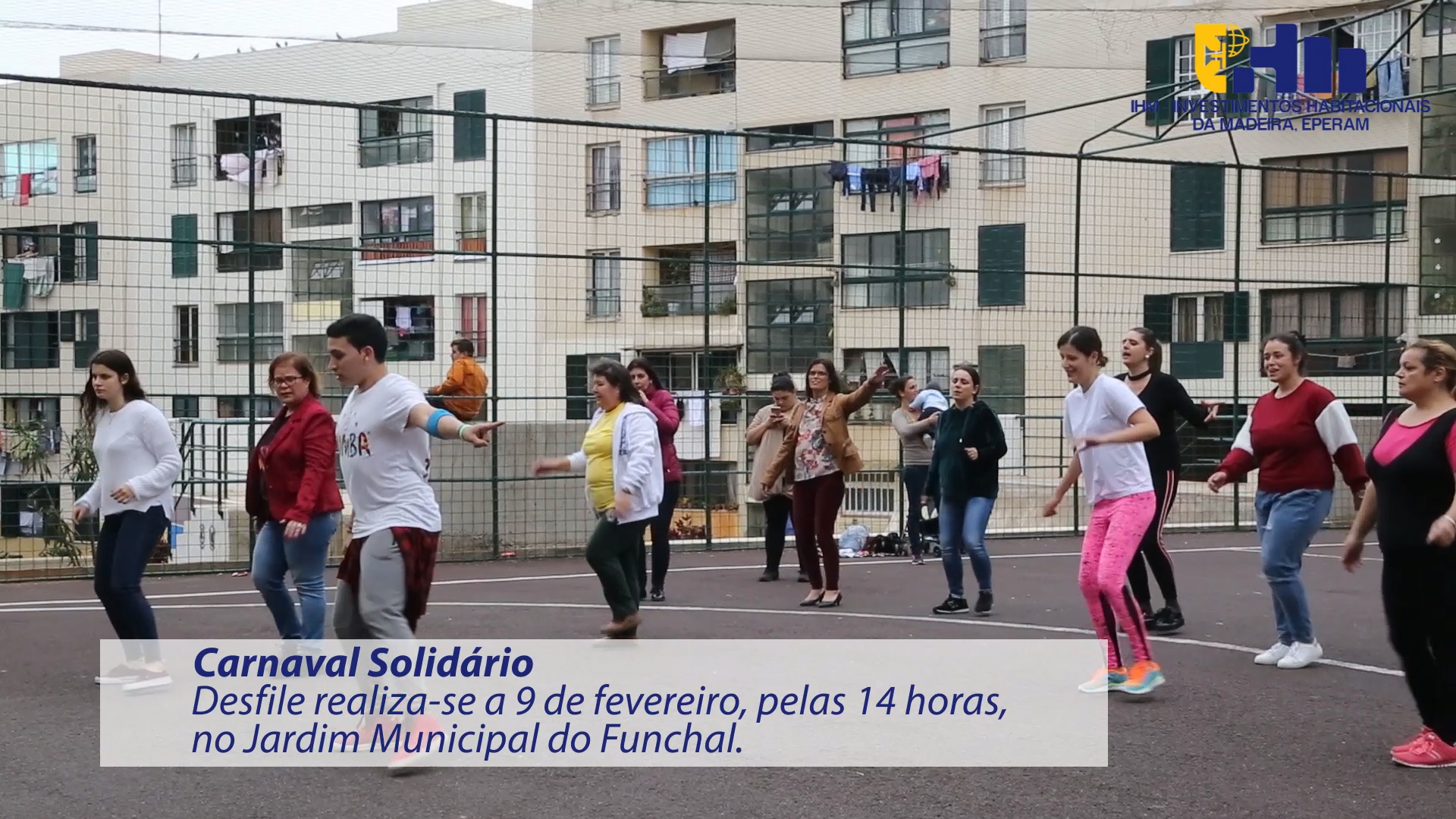 80 utentes dos Polos Comunitários da IHM participam no Carnaval Solidário