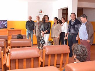 Rubina Leal visitou lar de infância e juventude da Aldeia da Paz