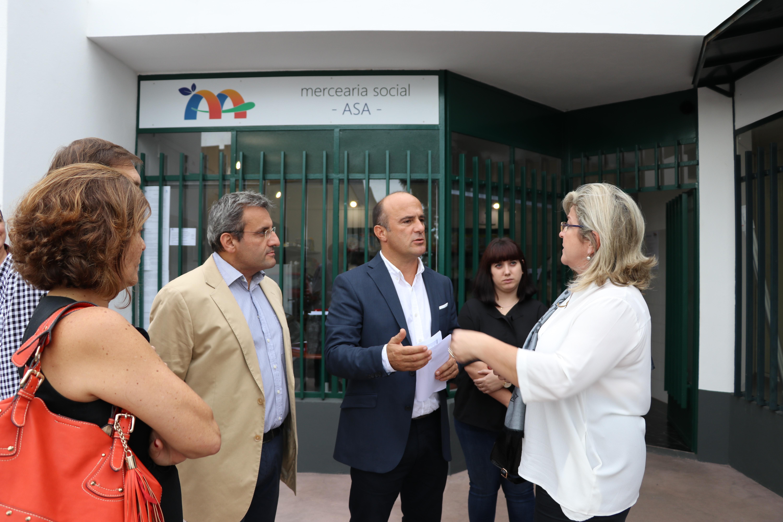 Mercearia Social apoia 29 agregados familiares de Santo António