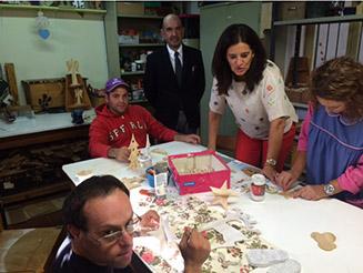 Rubina Leal iniciou ciclo de visitas aos Centros de Actividades Ocupacionais