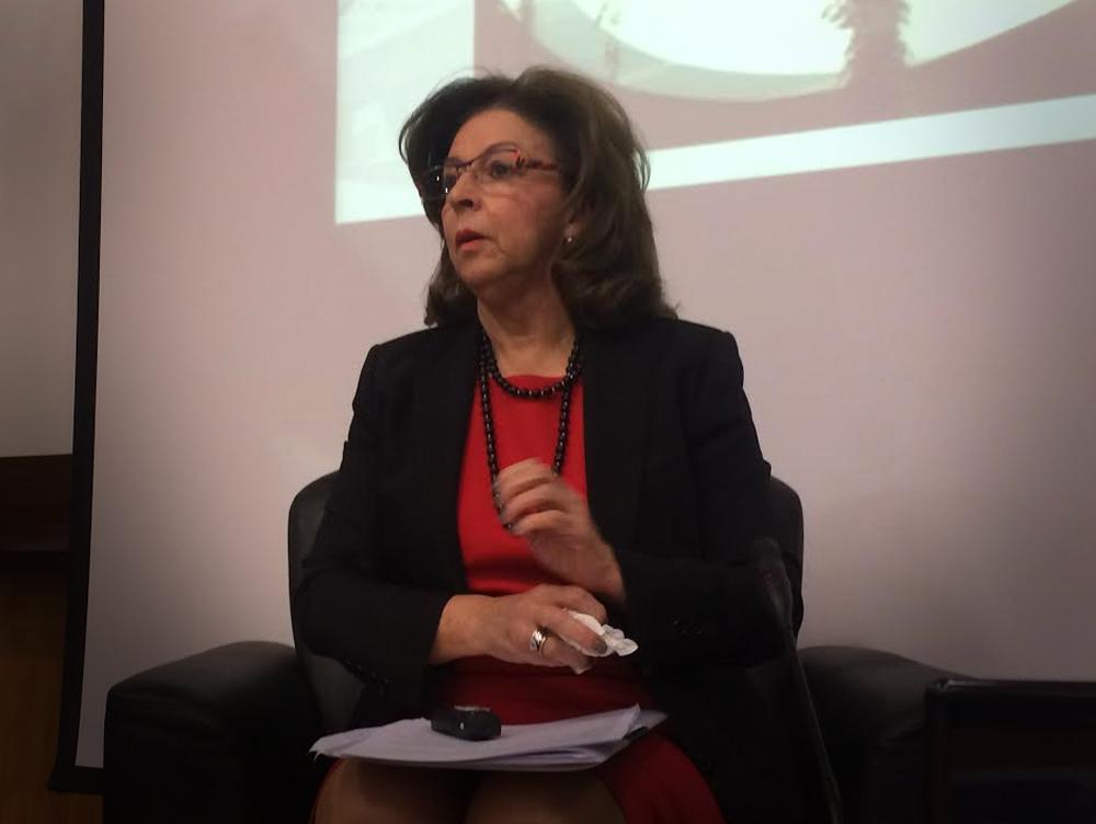 Conferência 'Iniciativas públicas e privadas' com a Dra. Leonor Beleza