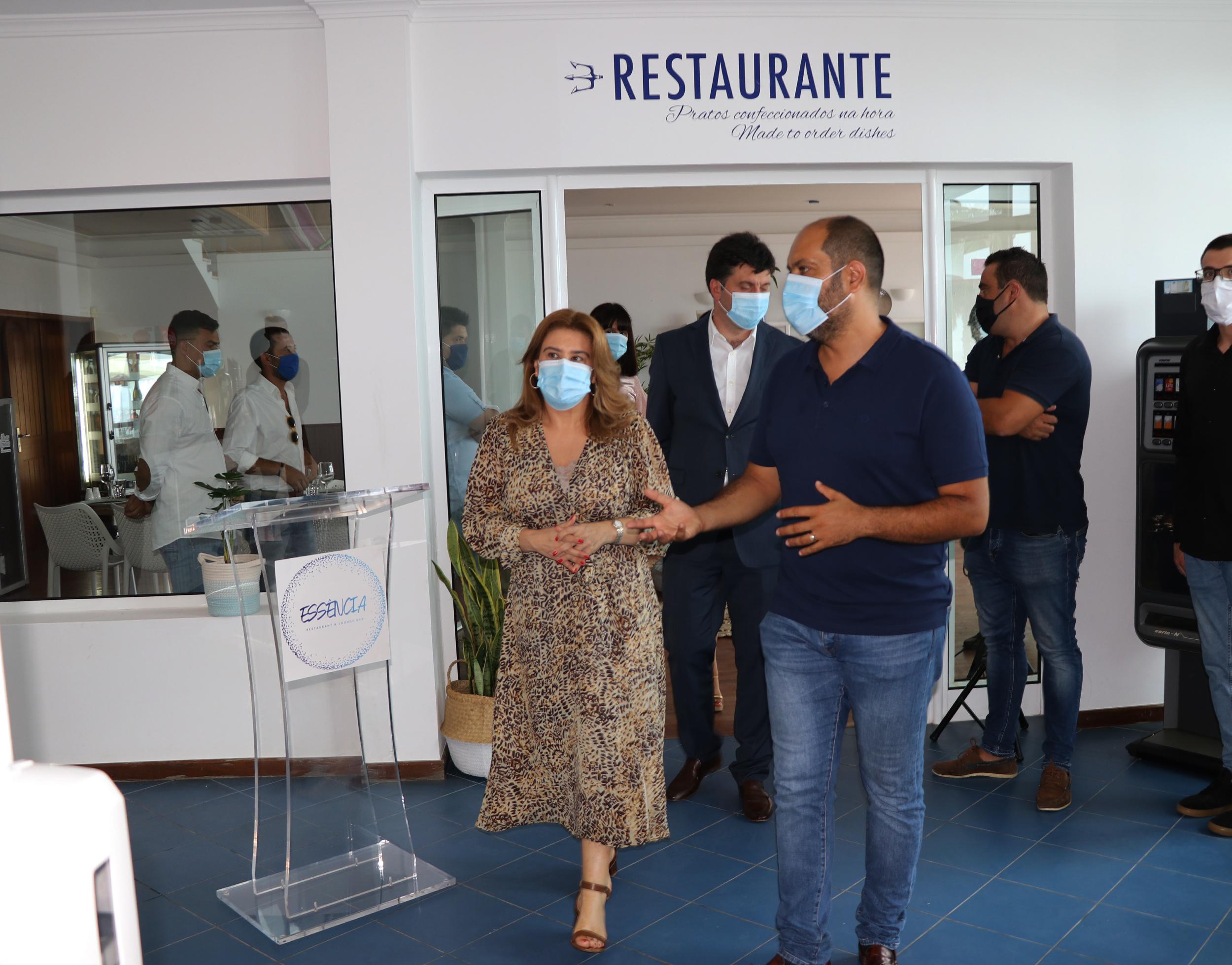 Clube Naval de São Vicente ganha novo espaço de restauração