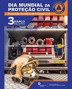Cartaz Dia Mundial da Proteção Civil 2017