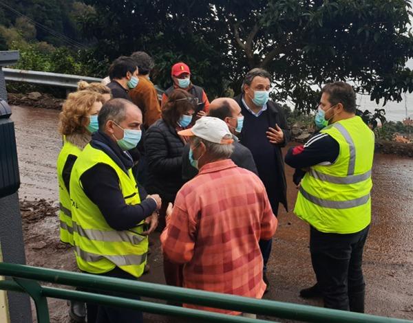 Governo Regional apoia a reconstrução de 16 casas afetadas pelo temporal em São Vicente