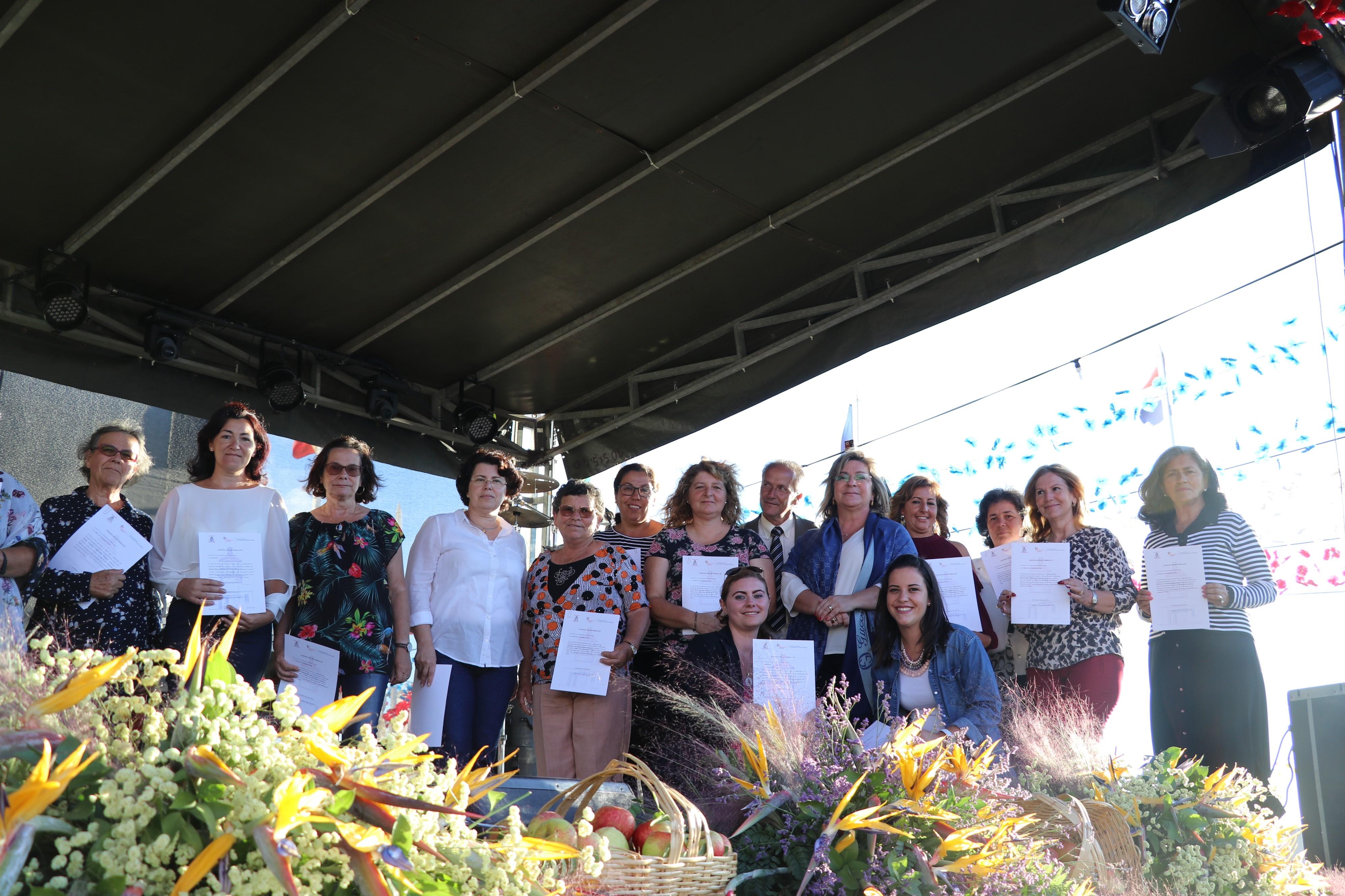 26 formandos da freguesia da Ponta do Pargo finalizaram o curso de Pastelaria e Pastelaria Natal
