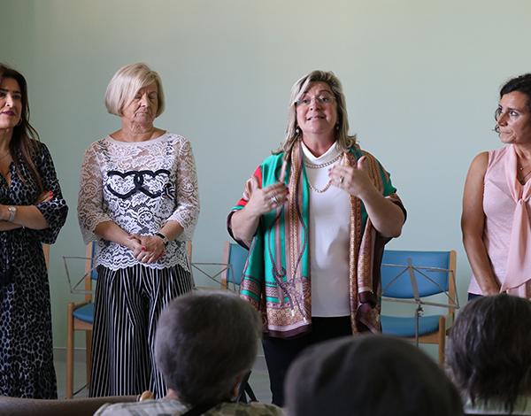 Rita Andrade visita Centro de Atividades Ocupacionais da Camacha