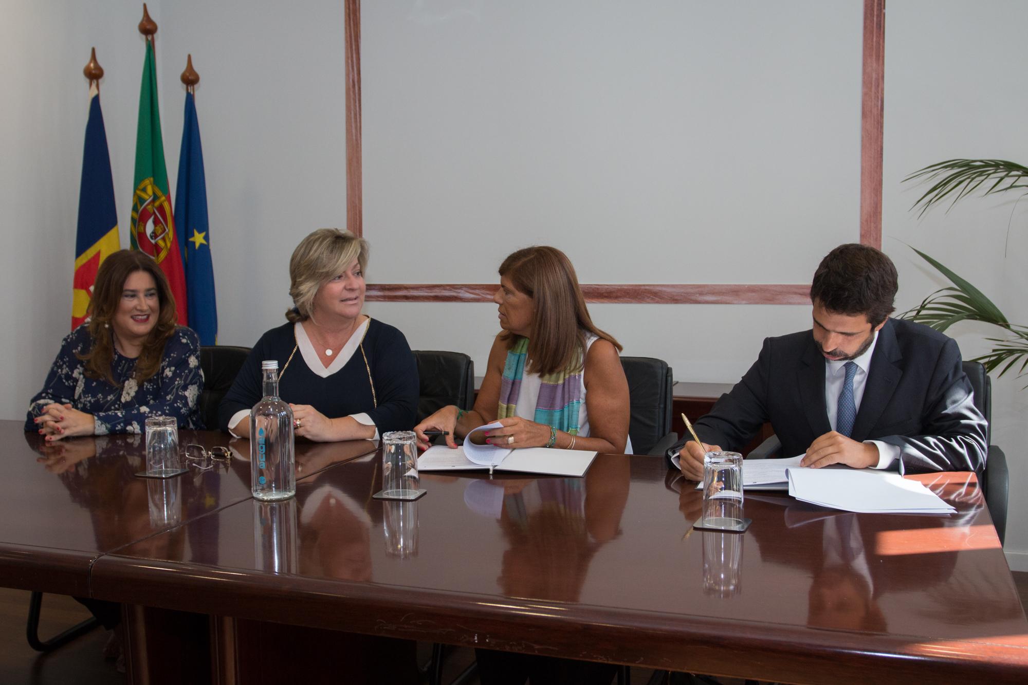 Governo assina protocolo de cooperação com a Associação Monte de Amigos