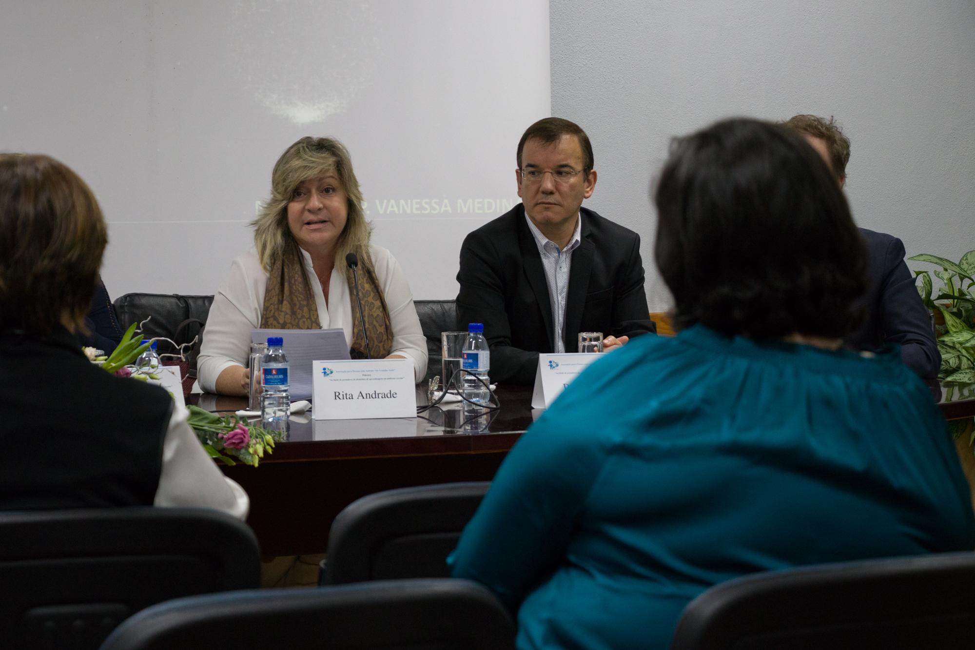 Rita Andrade participa em conferência sobre Necessidades de Educação Especial