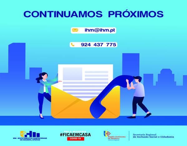 Comunicado: Contactos - IHM