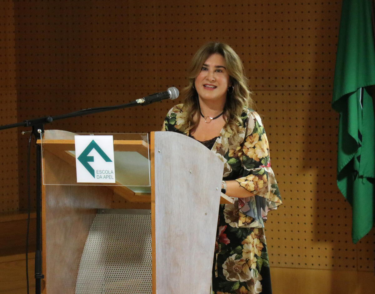Augusta Aguiar marca presença na apresentação do projeto 'Adota um avô'