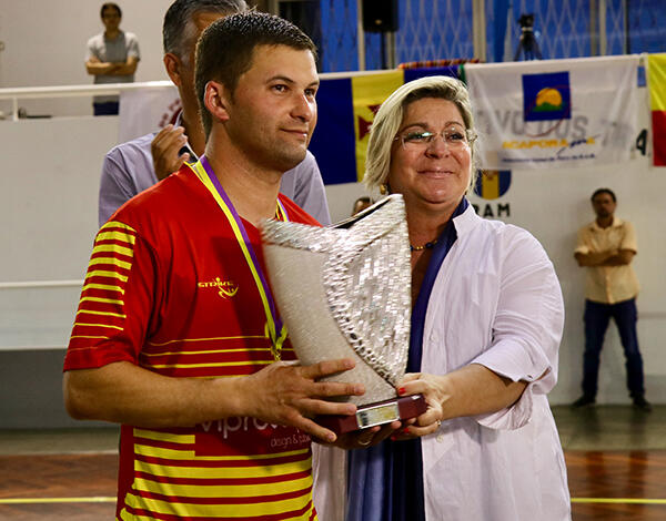Rita Andrade destaca vertente social do Torneio de Futsal INATEL/ACAPORAMA