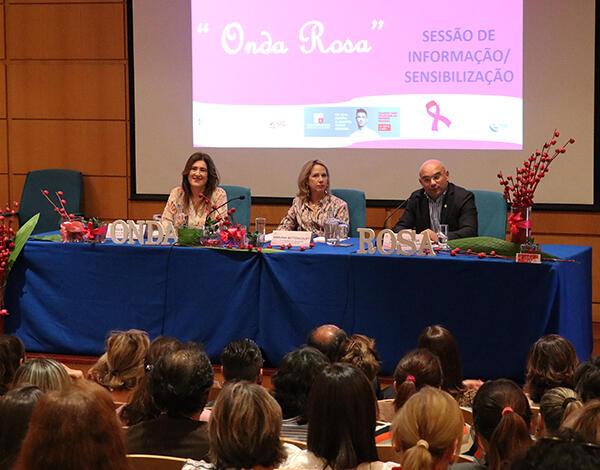 Augusta Aguiar enaltece trabalho da  Liga Portuguesa Contra o Cancro