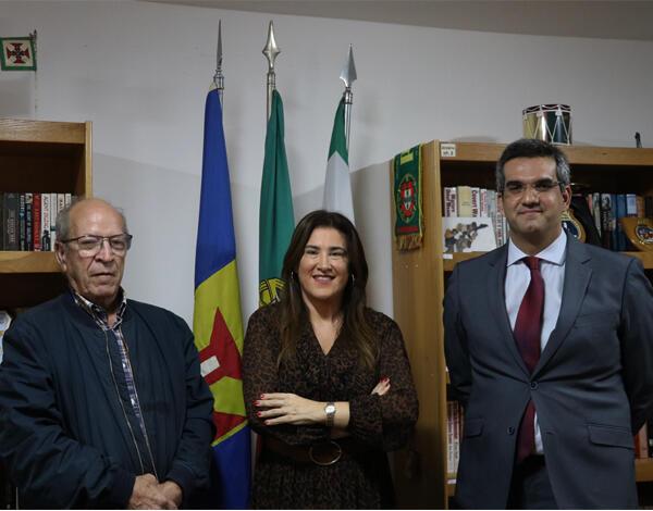 """""""Liga dos Combatentes é um exemplo de dedicação e serviço à Pátria"""", afirma Augusta Aguiar"""