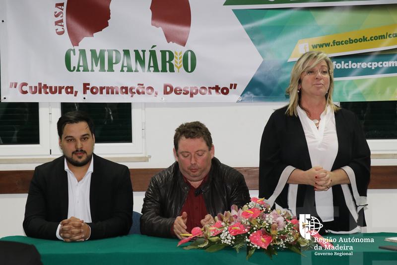 """""""Casas do Povo podem continuar a contar com o apoio do Governo Regional"""", Rita Andrade"""