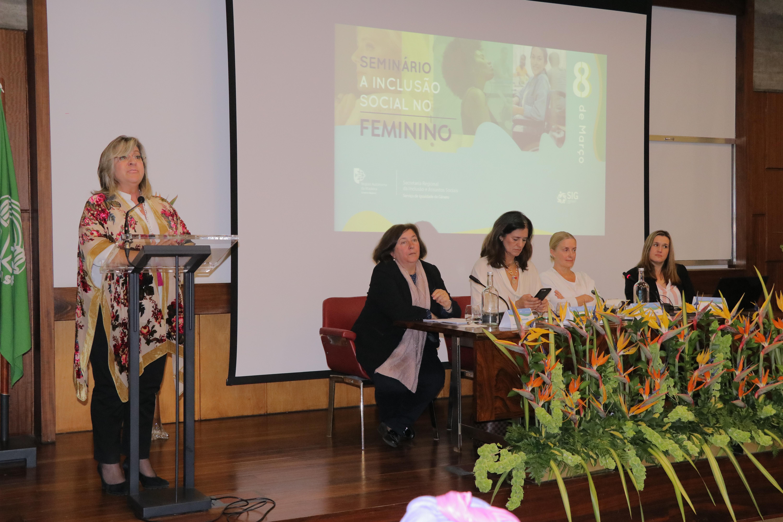Seminário - 'A Inclusão Social no Feminino' assinala Dia da Mulher