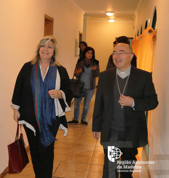 Fundação Aldeia da Paz recebe visita da Secretária Regional e Bispo do Funchal