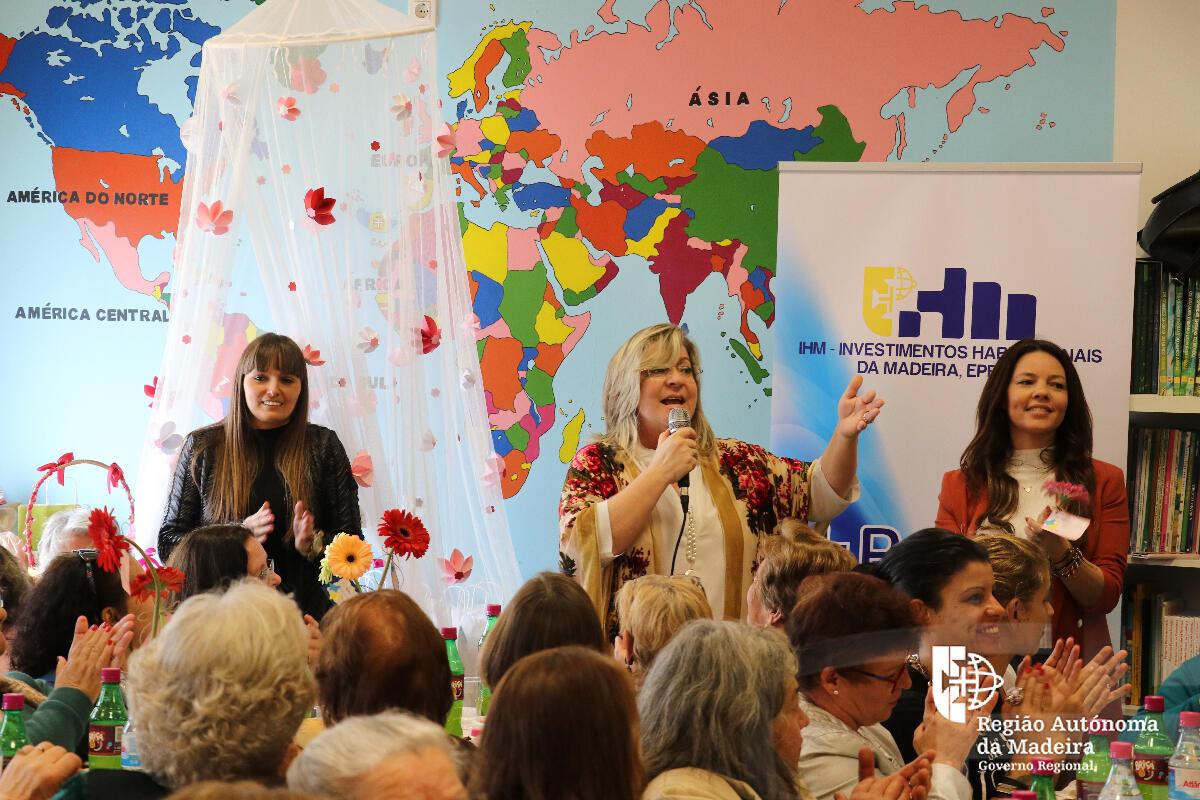 Investimentos Habitacionais da Madeira organiza almoço-convívio para assinalar o Dia da Mulher