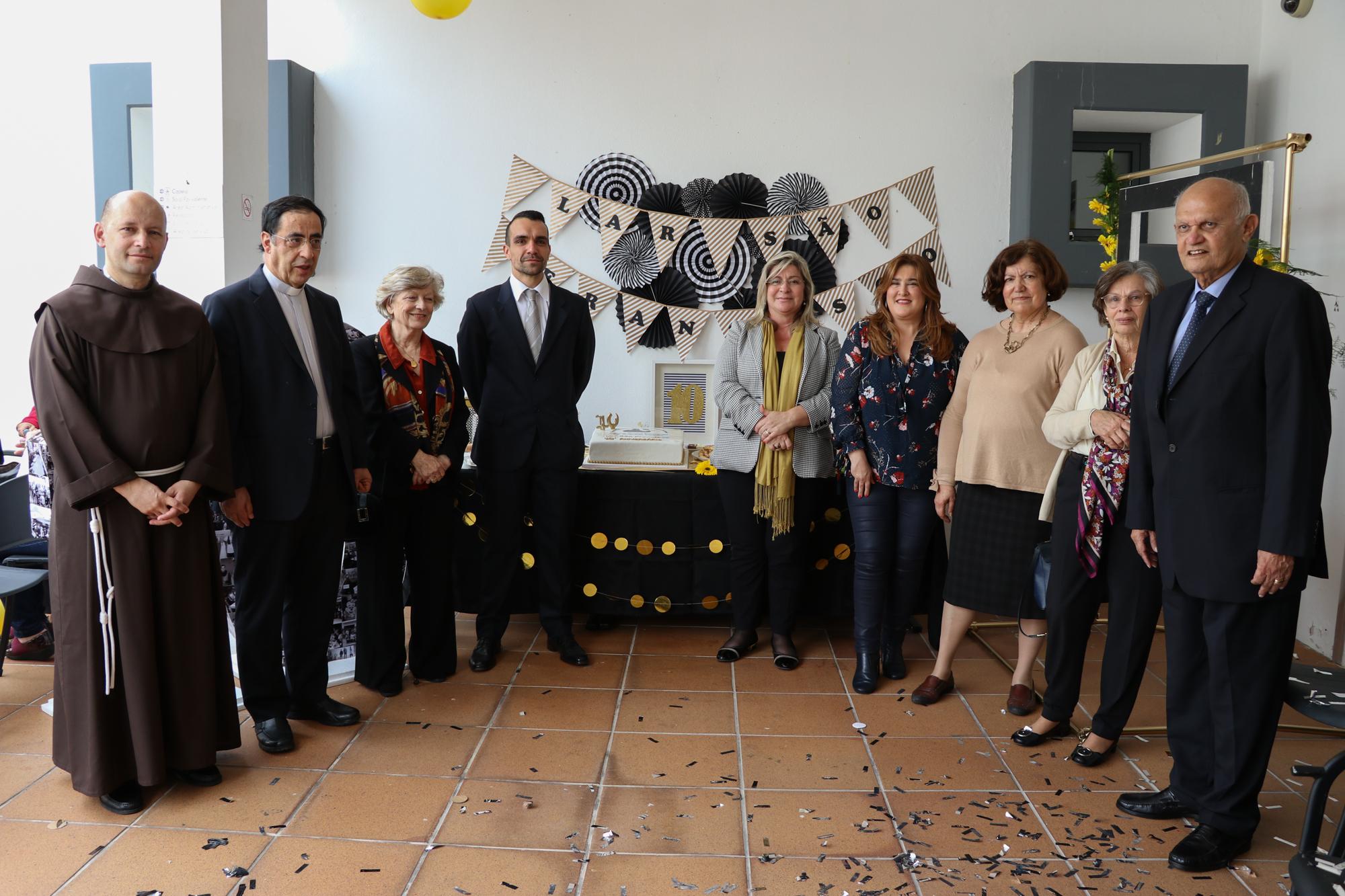 Governo Regional presente no 10º aniversário do Lar de São Francisco
