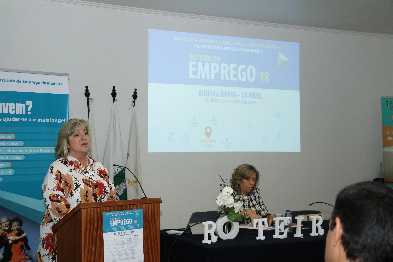 'Roteiro do Emprego 18' na Ribeira Brava para promover competências de desempregados inscritos no IEM
