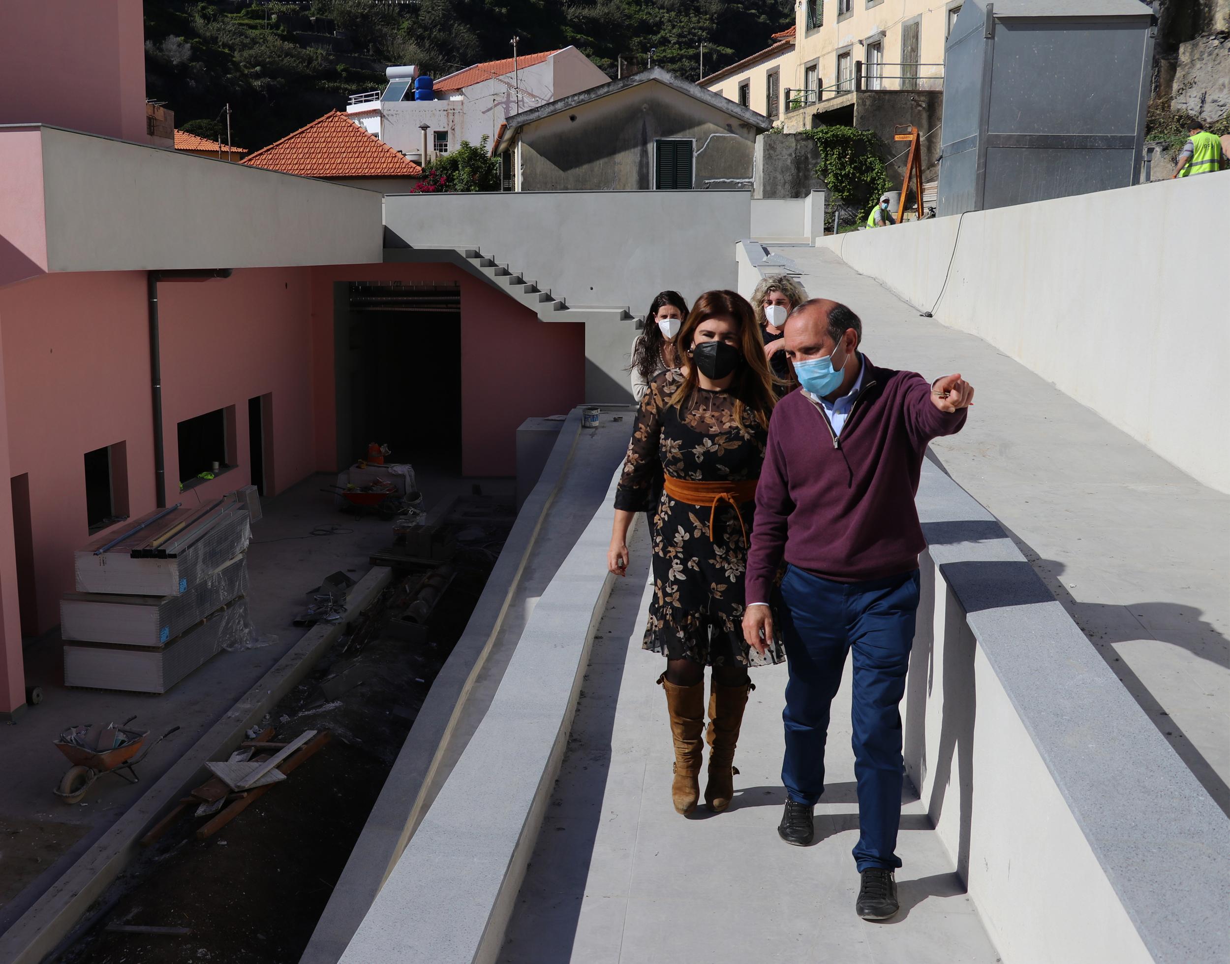 Augusta Aguiar visita Centro Social e Paroquial de São Bento