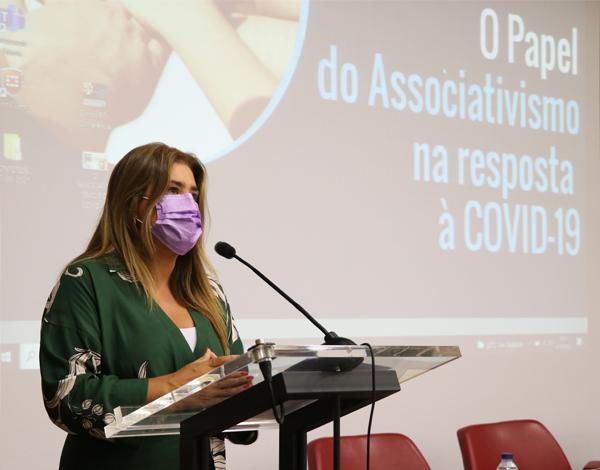 Augusta Aguiar destaca papel do associativismo na resposta à COVID-19