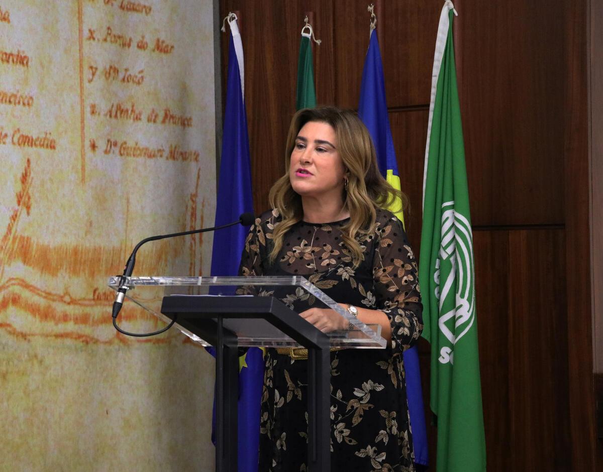 """""""A erradicação de todo o tipo de violência implica o compromisso de todos"""" realça Augusta Aguiar"""