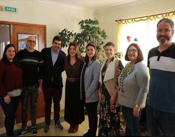 Augusta Aguiar visitou a Aldeia da Paz
