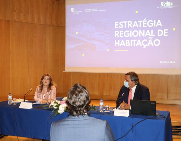 Governo Regional avança com Estratégia Regional de Habitação