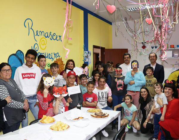 Festa de Carnaval no Bairro da Nogueira