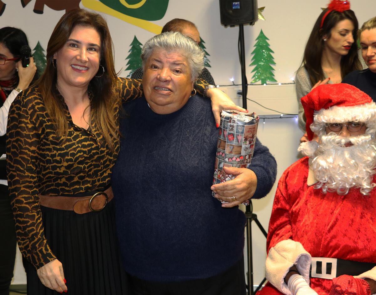 Augusta Aguiar na Festa de Natal do Polo Comunitário da Nazaré