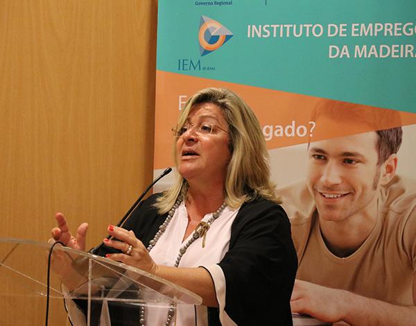 Rita Andrade destaca aumento da taxa de empregabilidade