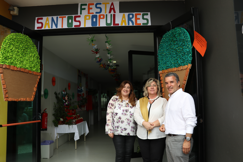 Secretária Regional nas Festas De São João da Garo(u)ta do Calhau